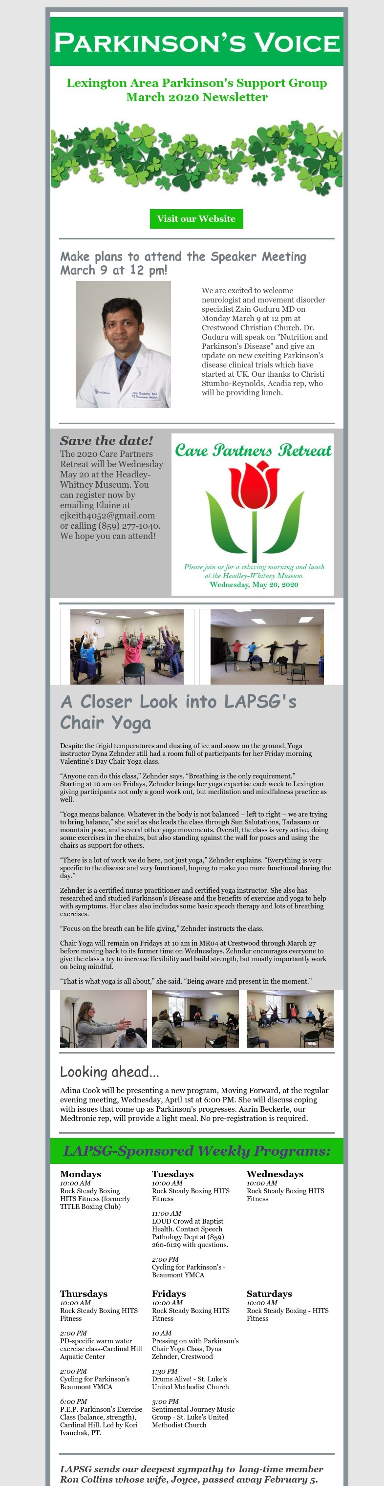March Newsletter A